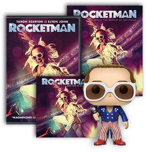 Rocketman Ultimate Fan Pack DVD/ LP Bundle