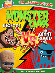 Monster Class: Bigfoot vs the Giant Squid