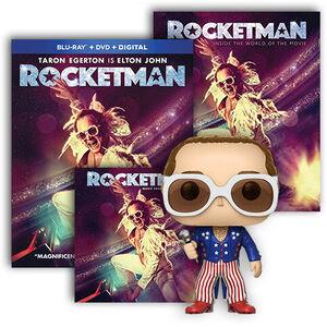 Rocketman Ultimate Fan Pack BR/ CD Bundle