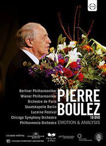 Pierre Boulez -Emotion & Analysis (Box Set)