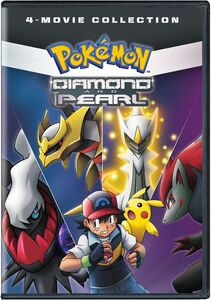 Pokemon Diamond And Pearl Movie Collection Standard