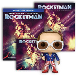 Rocketman Ultimate Fan Pack BR/ LP Bundle