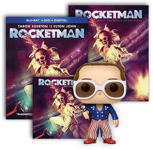 Rocketman Ultimate Fan Pack BR/ LP Bundle