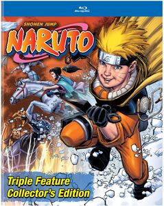 Naruto Triple Feature Collector's Edition