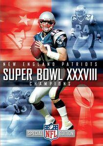New England Patriots Super Bowl XXXVIII Champions