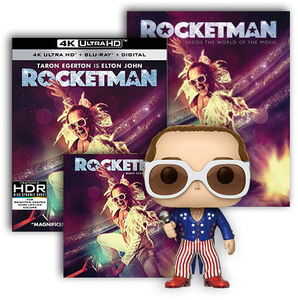 Rocketman Ultimate Fan Pack UHD/ CD Bundle