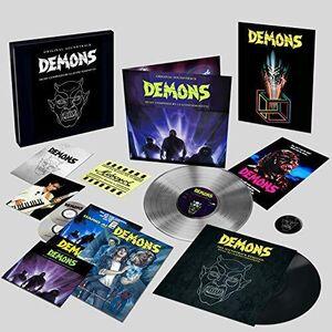 Demons (Original Soundtrack) [Limited Deluxe Boxset Includes 2LP's,2CD's, Comic Book & Gadgets] [Import]