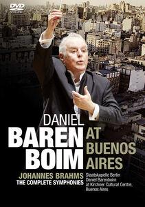 Daniel Barenboim At Buenos Aires: Brahms: The Complete Symphonies