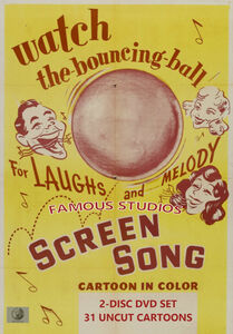 Famous Studios Screen Songs Classic Cartoon Collection