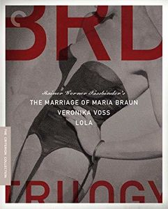 The Rainer Werner Fassbinder BRD Trilogy (The Marriage of Maria Braun /  Lola /  Veronika Voss) (Criterion Collection)