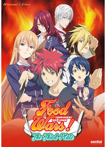Food Wars! Third Plate