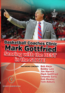 Basketball Coaches Clinic/ Mark Gottfried: Scoring With The Best In TheState