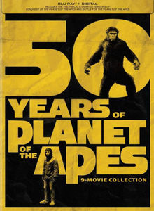50 Years of Planet of the Apes 9-Movie Collection