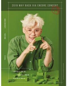 2019 Way Back Xia Concert In Korea (Incl. 100 pg Photobook) (3 DVD -Region Free) [Import]