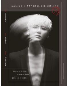 2019 Way Back Xia Concert In Japan (Incl. 100 pg Photobook) (3 DVD -Region Free) [Import]