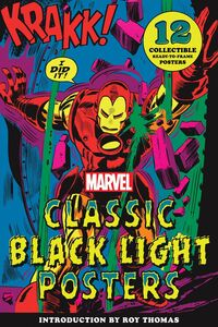 MARVEL CLASSIC BLACK LIGHT COLLECTIBLE POSTER