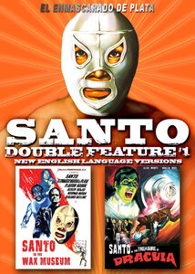 Santo Double Feature #1: Santo in the Wax Museum /  Santo in the Treasure  of Dracula