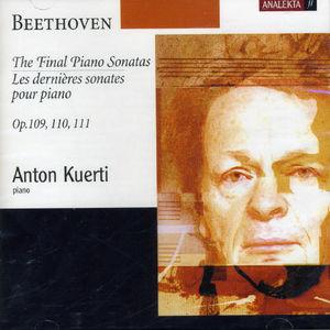 Final Piano Sonatas