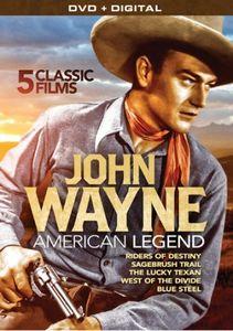 John Wayne: American Legend: 5 Classic Films