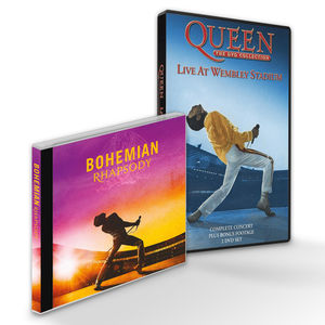 Bohemian Rhapsody Live At Wembley Bundle