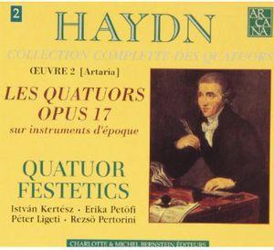 Quartets Op 17