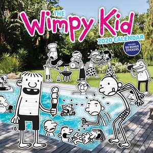 WIMPY KID 2020 WALL CALENDAR