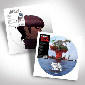 Gorillaz Double Vinyl Picture Disc Bundle