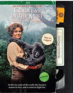 Gorillas in the Mist (Retro VHS Packaging)