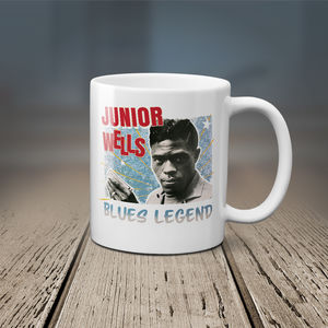 JUNIOR WELLS BLUES LEGEND 11 OZ COFFEE MUG