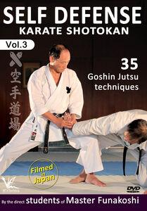 Shotokan Karate, Vol. 3: 35 Goshin Jutsu Self-Defense Techniques