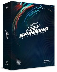 2019 World Tour: Keep Spinning in Seoul (3 x Blu-Ray, incl. 24pgPhotobook, Clear Photo Frame + 7 Photocards) [Import]