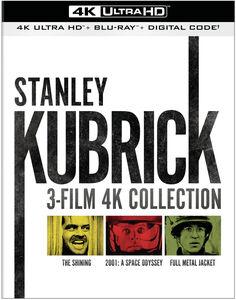 Stanley Kubrick: 3-Film 4K Collection