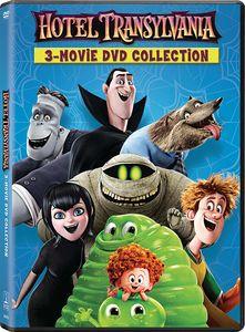 Hotel Transylvania: 3-Movie DVD Collection