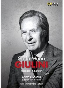 Carlo Maria Giulini in Rehearsal
