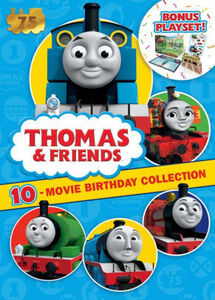 Thomas & Friends: 10-Movie Birthday Collection + Playset (75th Anniversary Edition)