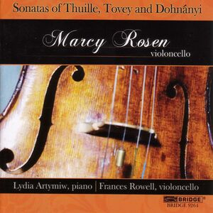 Marcy Rosen Plays Cello Sonatas
