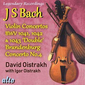 Bach Violin Concertos 1, 2, 3 Plus Brandenburg Concerto No.4