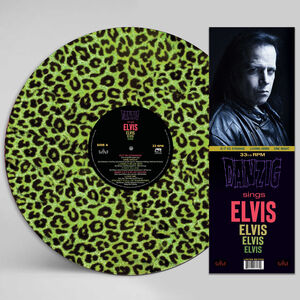 Sings Elvis - A Gorgeous Green Leopard Picture Disc Vinyl