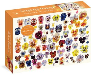 FIELD OF PANSIES 1000 PIECE PUZZLE