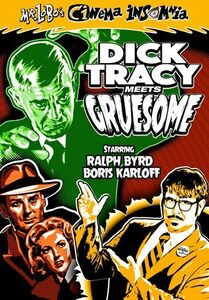 Mr Lobo's Cinema Insomnia: Dick Tracy Meets Gruesome