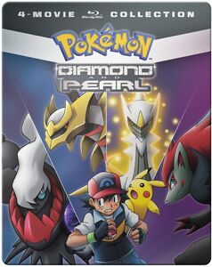 Pokemon Diamond and Pearl Movie 4-pack