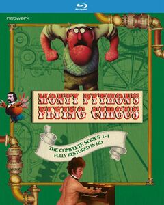 Monty Python's Flying Circus: The Complete Series 1-4