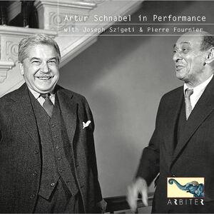 Schnabel in Performance with Szigeti & Fournier