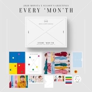 Season's Greetings 2020 (incl. Desk Calendar, A4 Post Set, A6 RingDiary, Sticker, Note, Magnet, Polaroid Photocard Set, Photocard Set,Postcard Calendar & Stand + 2020 Greetings Card) [Import]