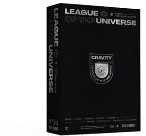 League of the Universe (NTSC Reg.1+3) (incl. 300pg Photobook, Paper Holder, ID Photo Collection, Profile Mini Poster, Symbol Clip + 9pc Photocard Set) [Import]