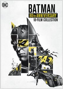 Batman: 80th Anniversary 18-Film Collection DVD