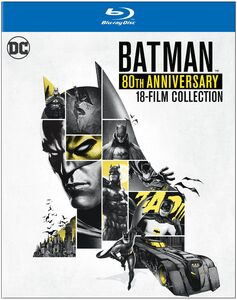 Batman: 80th Anniversary 18-Film Collection