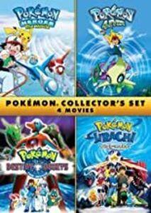 Pokemon Collector's Set: 4 Movies