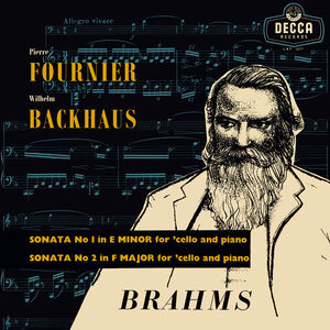 Brahms Sonatas For Cello & Piano