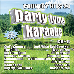Party Tyme Karaoke: Country Hits 24 (Various Artists)